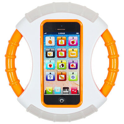 Steering Wheel YPhone Iphone Educational Toy Mobile Phone Gift for Kids Children
