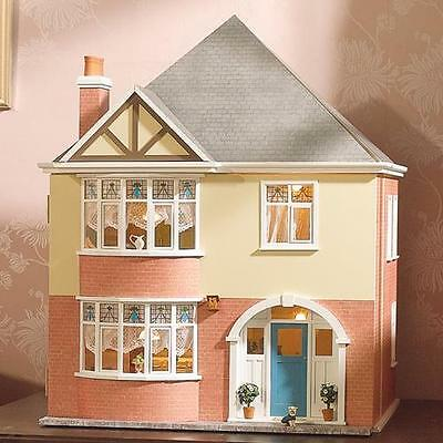 Mountfield Dolls House Kit by Dolls House Emporium Unpainted Easy-to-Build