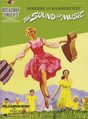The Sound of Music Broadways Singer's Edition Piano Vocal Music Book/CD