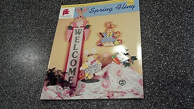 SPRING FLING Provo Craft - Carter Dinsdale Tole Painting Craft Manual Book