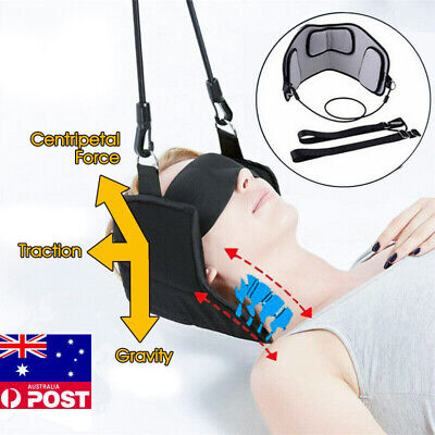 Head Hammock Cervical Traction Stretcher Neck Pain Relief Support Massager Tools
