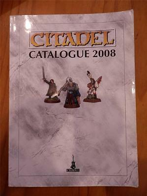 Citadel Catalogue 2008 by Games Workshop 416 pg Miniatures Reference book OOP