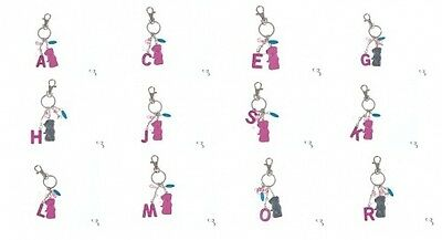 Me To You Tatty Teddy *enamel Keyring Letters: L, M, N, O, P, R, S, T, W* New