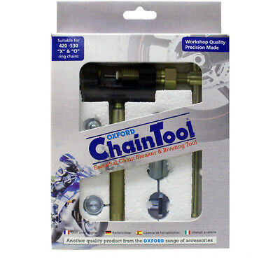Oxford Motorcycle Motorbike Chain Breaker & Rivet Tool