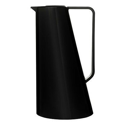 Sagaform 1L Capacity Coffee Jug Pitcher With Heat Insulating Gas Insert - Black