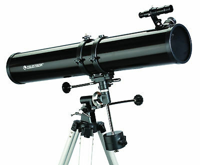 Celestron PowerSeeker 114EQ Reflector Telescope 675x Magnification Barlow Lens