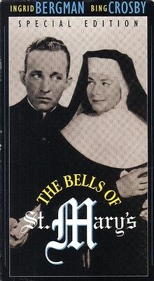 VHS: THE BELLS OF ST. MARY......BING CROSBY