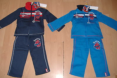 New Boys Ultimate Spiderman Jogging Suit Navy Red Blue 2 Piece Ages 2 3 4 5 6