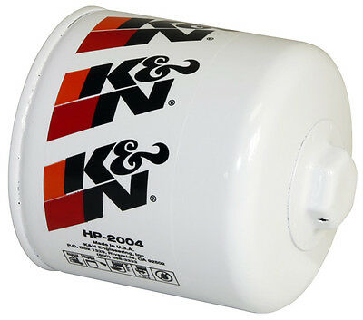K&N Premium Wrench-Off Oil Filter HP-2004 (Performance Canister Oil Filter)