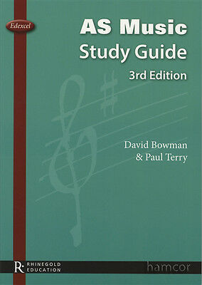 AS Music Study Guide 3rd Edition Edexcel by David Bowman & Paul Terry