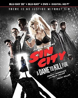Frank Miller's Sin City: A Dame to Kill For [Blu-ray] (2014) NEW