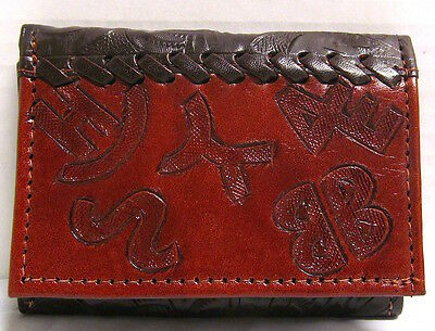 NWT~American West~ Men's TriFold Wallet*Branded*