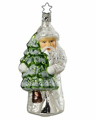 "Inge Glas ""kindhearted Nikolaus"" Glass Ornament - Made in Germany (#220)"