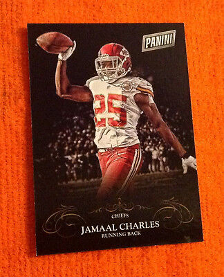 2014 Black Friday Thick SP (50 Made) JAMAAL CHARLES Chiefs #28 Parallel Panini