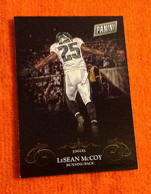 2014 Black Friday Thick SP (50 Made) LESEAN MCCOY Eagles #12 Parallel Panini