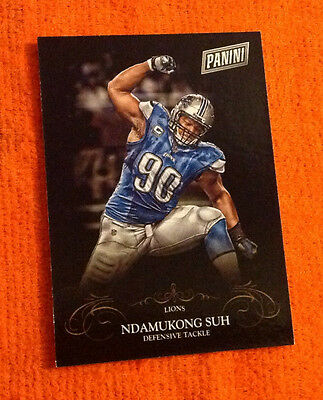 2014 Black Friday Thick SP (50 Made) NDAMUKONG SUH Lions #29 Parallel Panini