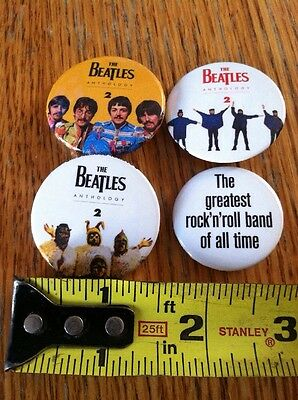 Beatles Anthology 2 - Buttons (3 Total + 1)