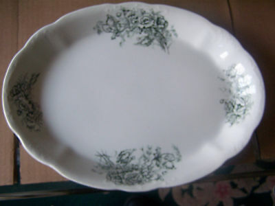 """antique taylor smith and taylor TST platter 15 1/8"""""""