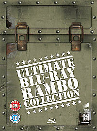 Rambo - Ultimate Collection 1 - 4 - Blu Ray - New