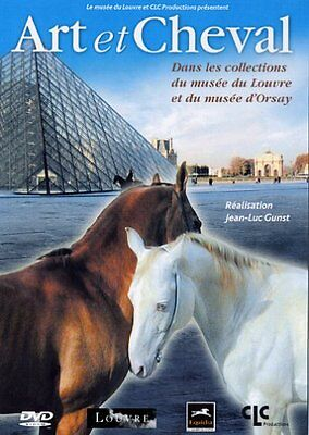 28993//Art Et Cheval Musee Du Louvre Musee D'orsay Dvd Neuf Sous Blister