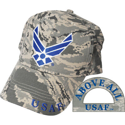 United States Air Force Logo Camo Hat USAF Cap