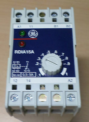 General Electric RDIA1-5ACD Stromwächter , Current Detector Relay RDIA15ACD