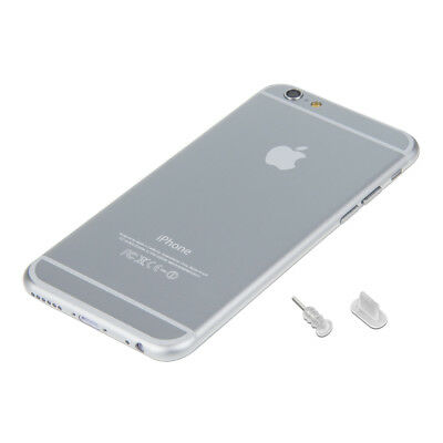 Dust Protection Set For Apple Iphone 6 6 Plus Transparent Plug Pin Peg Port