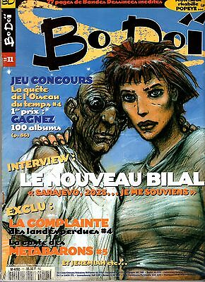 BO DOI n°11 ° 1998 ° INTERVIEW ENKI BILAL / JEREMIAH/JEROME MOUCHEROT - BODOI
