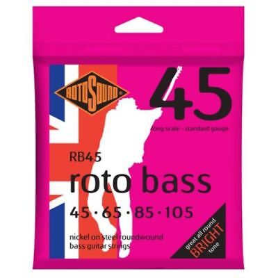 Rotosound RB45 Roto Nickel Bass Guitar Strings Standard Gauge 45-105 Long Scale
