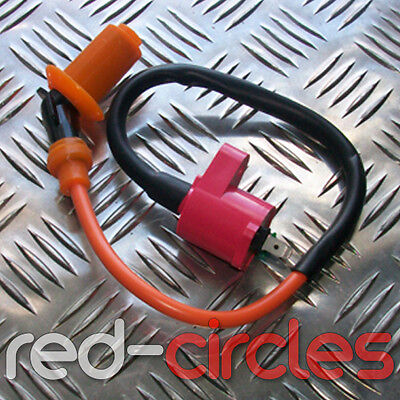 Peugeot Speedfight 3 Darkside LC HT Lead Ignition Coil  /& Cap 2 Pin