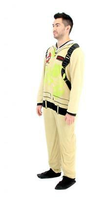 Adult Movie Ghostbusters Venkmen  Jumpsuit Costume Pajamas Union Suit