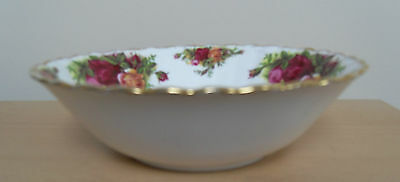 """ROYAL ALBERT -  OLD COUNTRY ROSES - CHINA  6.25"""" DESSERT BOWL  - EXCELLENT"""