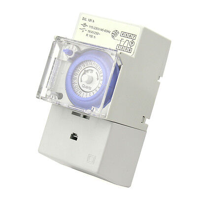 Programmable Digital Timer LED Light Switch Time Relay 220V Manual/Auto Control