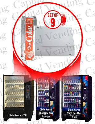 Automatic Products Snack & Candy Vending Machine with Dual Spirals