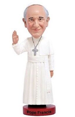 Royal Bobbles Pope Francis Bobblehead Toy Religious Papacy 1075 Bobble Nodder