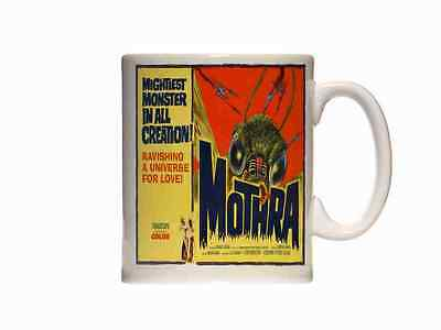 Mug Mothra 1962 Poster 02 Ceramic Cup Box Gift