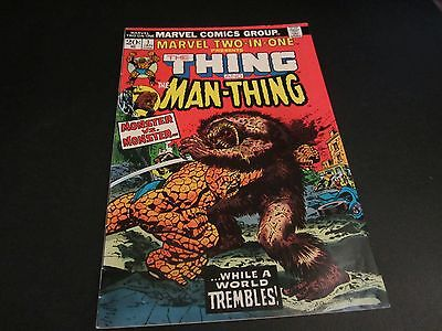 Original Bronze Age Marvel Two-In-One #1 Rare 1St Issue !!!!!