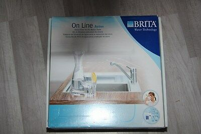 """BRITA - Pack """"Cartouche carafe"""" et robinet filtrant ONLINE neuf article expo"""