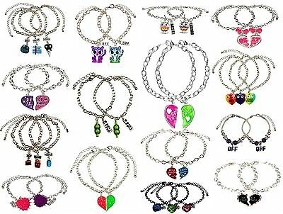 NWT Justice Girls BFF Best Friends Big Sister Little Sister Bracelet 2pc 3pc NEW