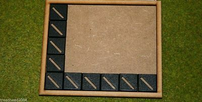 MDF laser cut MOVEMENT TRAY (6×5) 20mm Infantry Bases