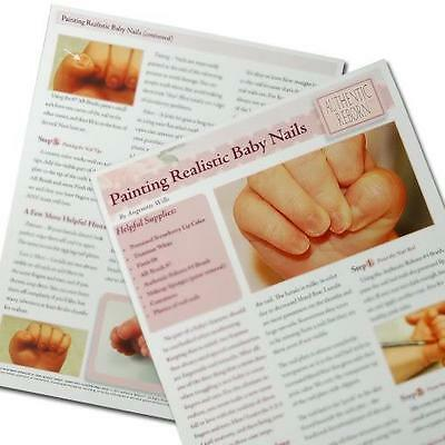 PaiNtiNg ReALiStiC BaBy'S NaiLs TuToRiAL