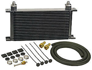 """Derale 13403 19 Row Stacked Plate Transmission Cooler Kit Width: 13"""""""