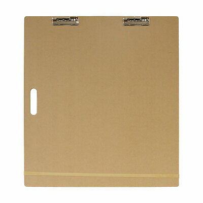 "US Art Supply® 23""x26"" Artist Field Sketch Tote Board Drawing Heavy-Duty Clip"