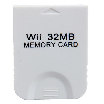 32MB Memory Card for Nintendo GameCube Game Wii Console System Data Storage
