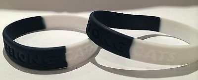 Geelong Cats AFL Team Coloured Rubber Wristbands * 2 Per Packet