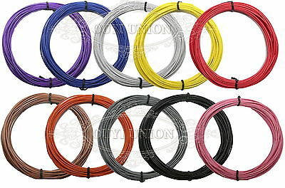 5M Equipment Wire 22AWG Multi Copper Core Hook UP Stranded  DIY Electrical Wire