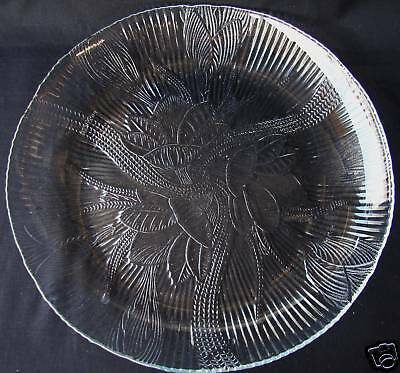 ARCOROC CANTERBURY CLEAR GLASS DINNER PLATE(S)