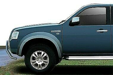 Kit parafanghini in ABS silver Ford Ranger Double Cab dal 2007 al 2009