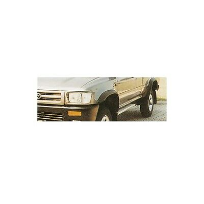 Kit parafanghini in ABS goffrati Toyota Hilux Double Cab dal 1989 al 1997