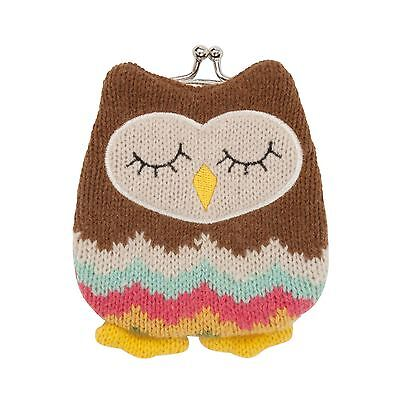 Aroma Home Knitted Owl Purse